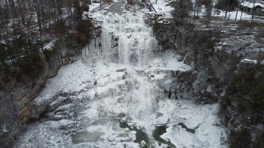 Chittenango Falls winter