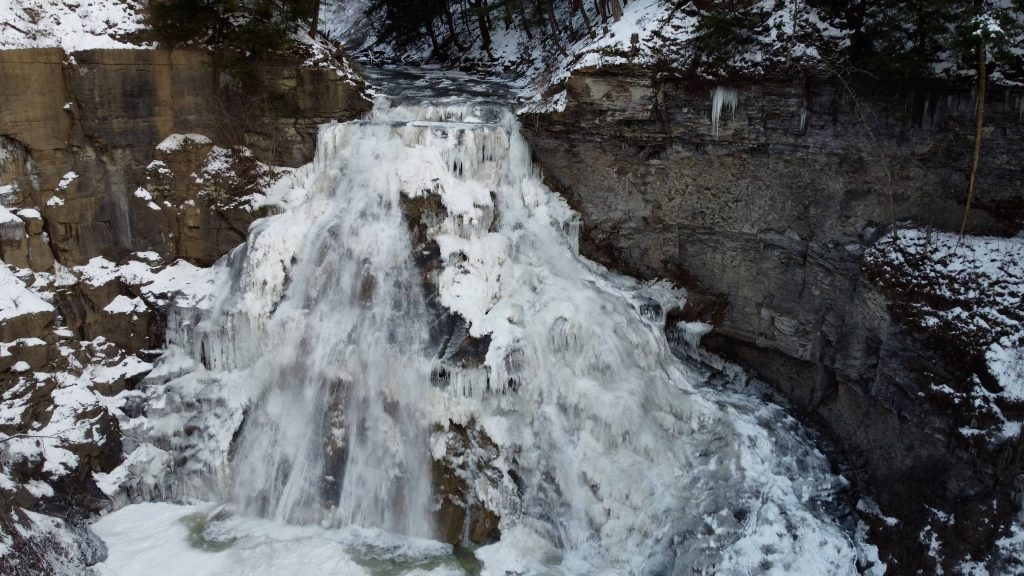 delphi falls winter