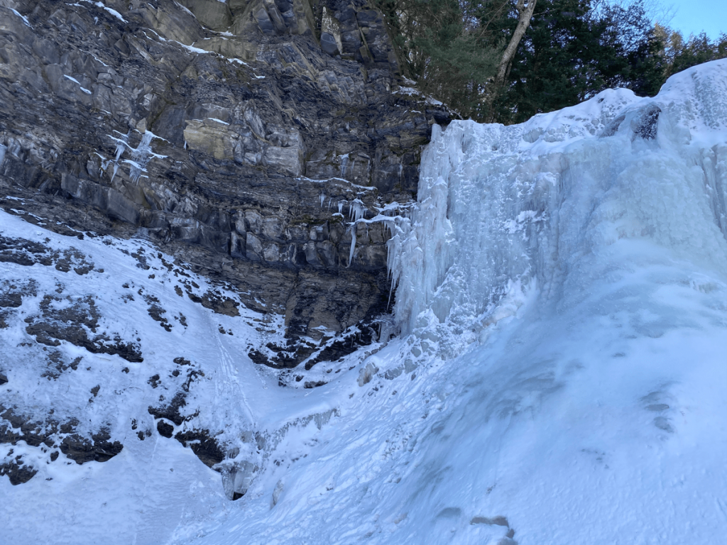 Plotter Kill Falls rocky gorge