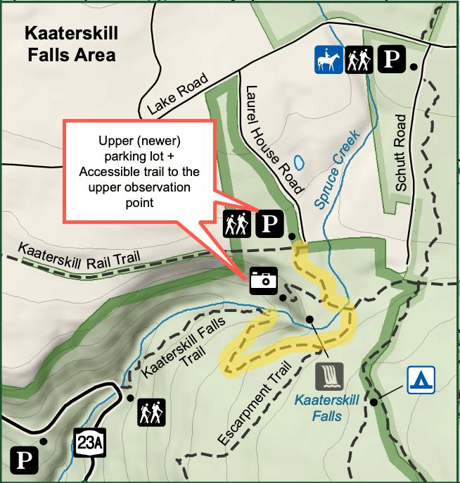 Kaaterskill Falls Trail Map