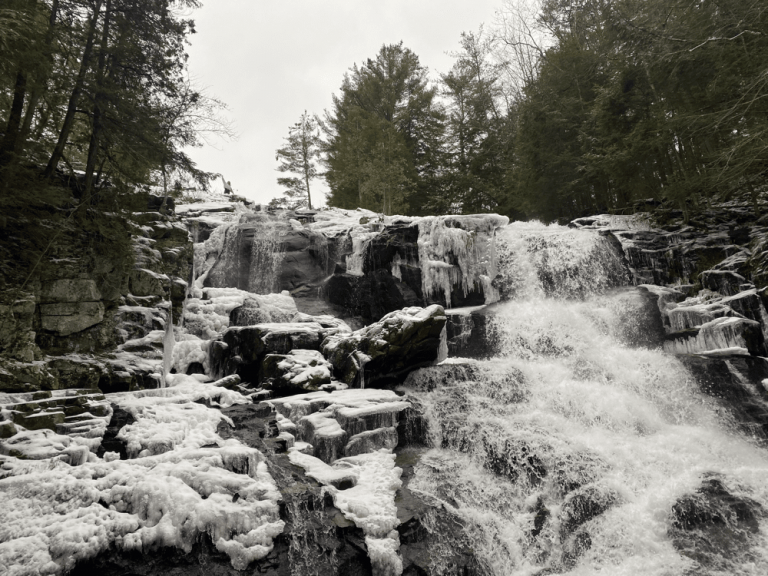 Shelving Rock Falls: Adirondack Waterfall Near Lake George