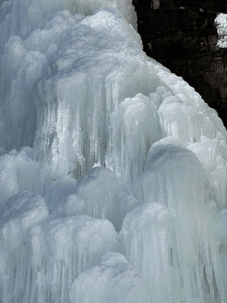 Plattekill Falls ice cascades