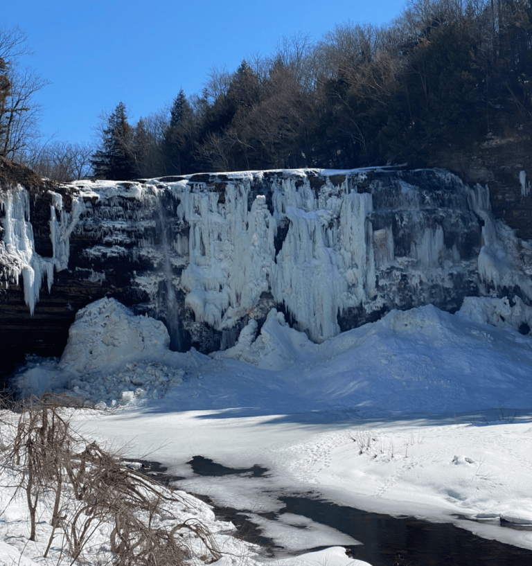 Salmon River Falls NY in Winter: Trail Map and Best Way to See!